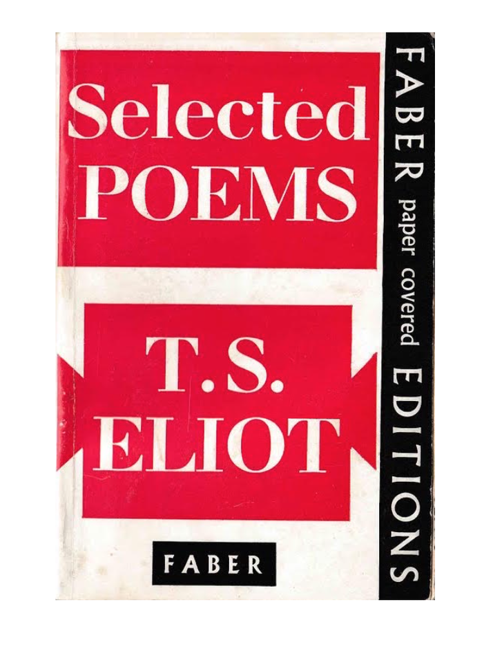 Selected Poems by T. S. Eliot