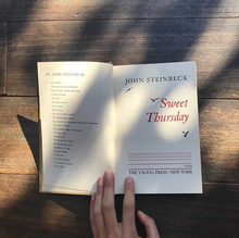 Load image into Gallery viewer, John Steinbeck Sweet Thursday