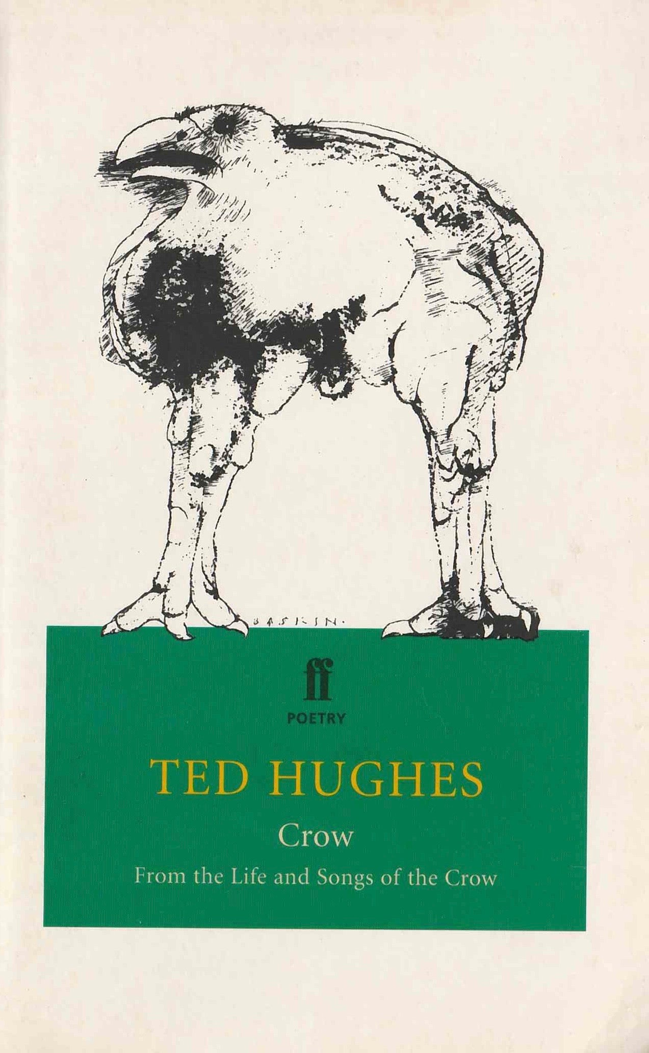 Crow Ted Hughes