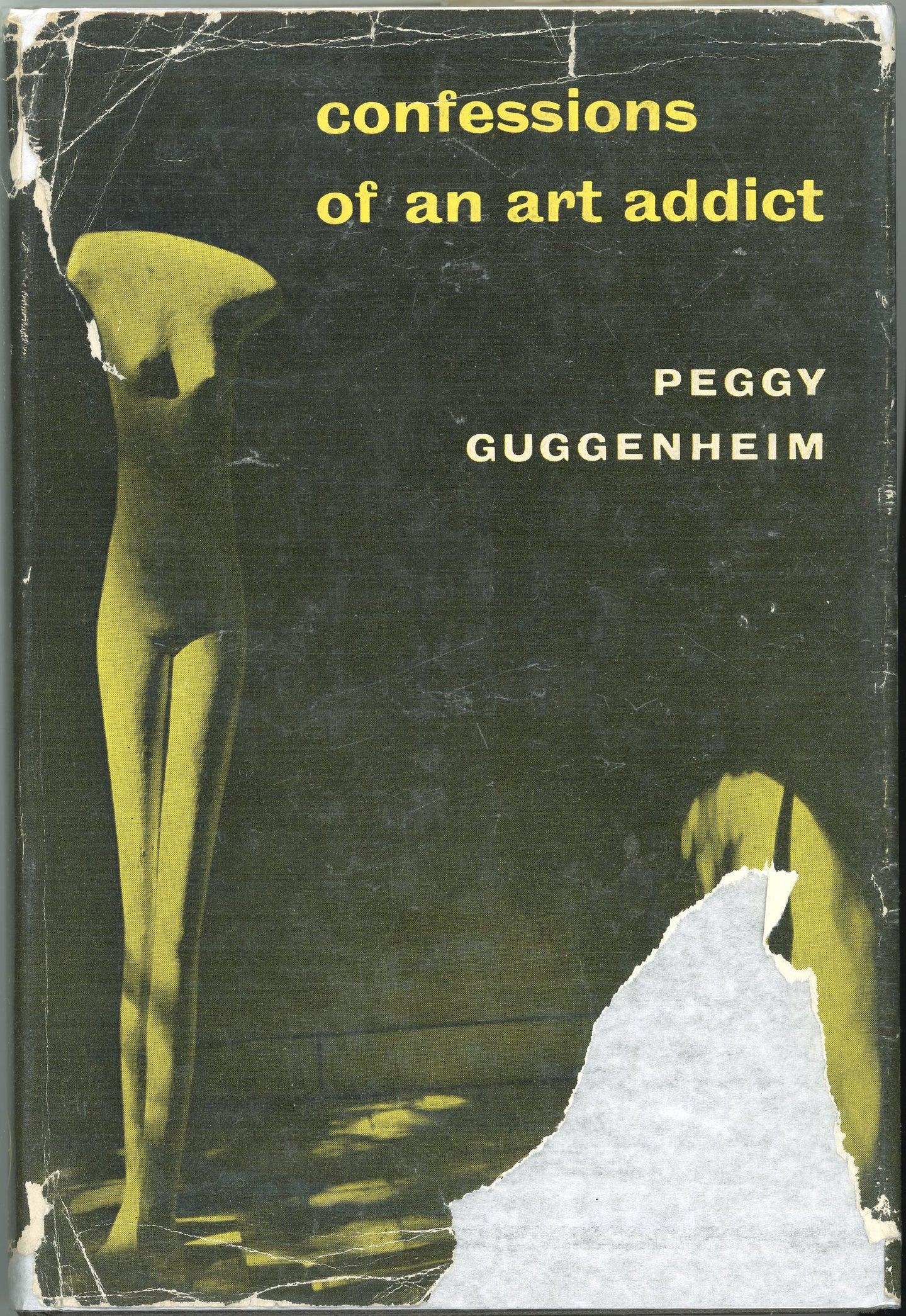 Confessions of an art addict Peggy Guggenheim