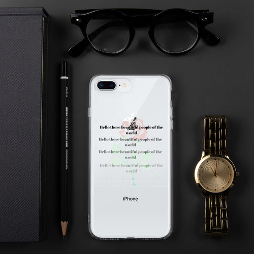 beautiful people iPhone Case