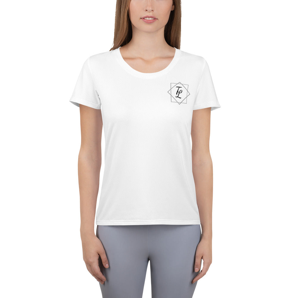 beautiful people Women's Athletic T-shirt