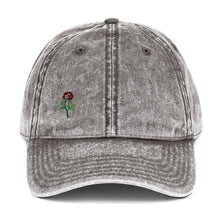 Load image into Gallery viewer, rose Vintage Cotton Twill Cap