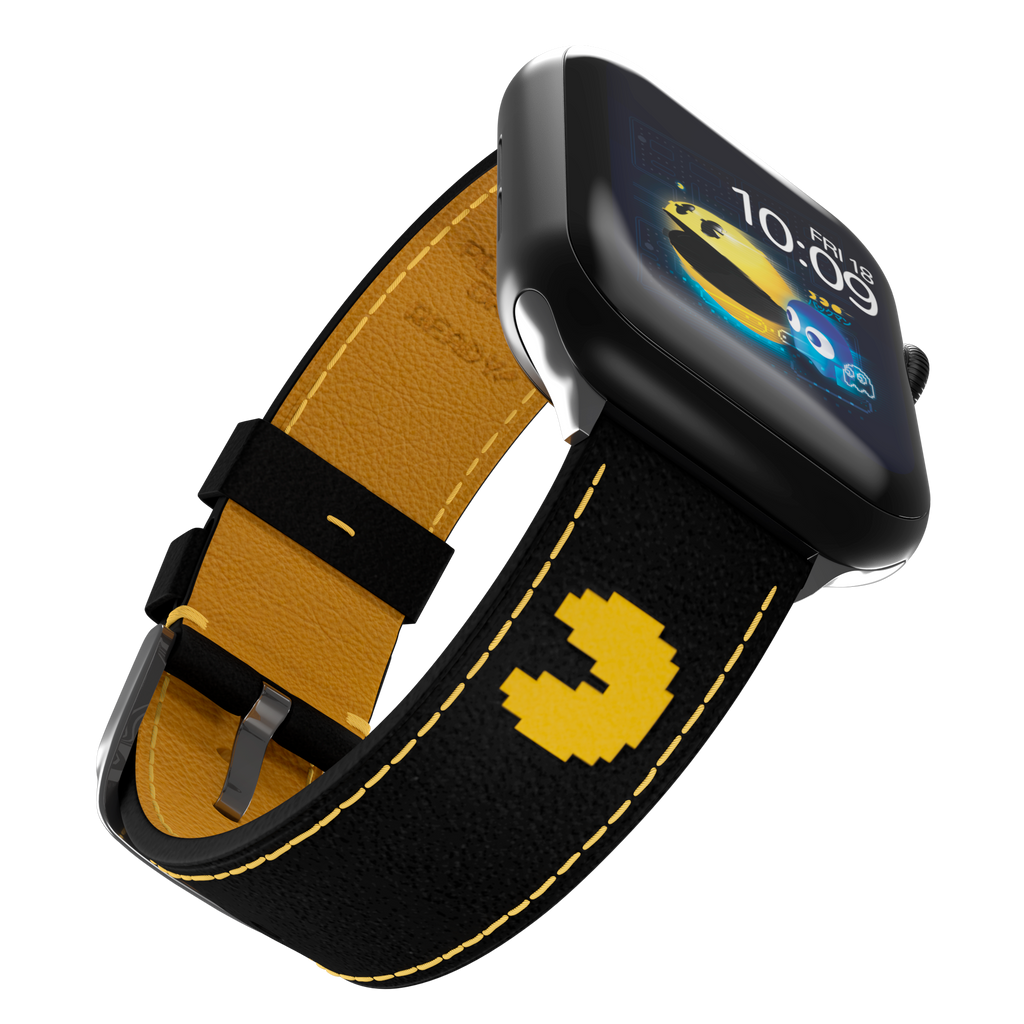 PAC-MAN™ - Double-Stitched Black Leather Edition