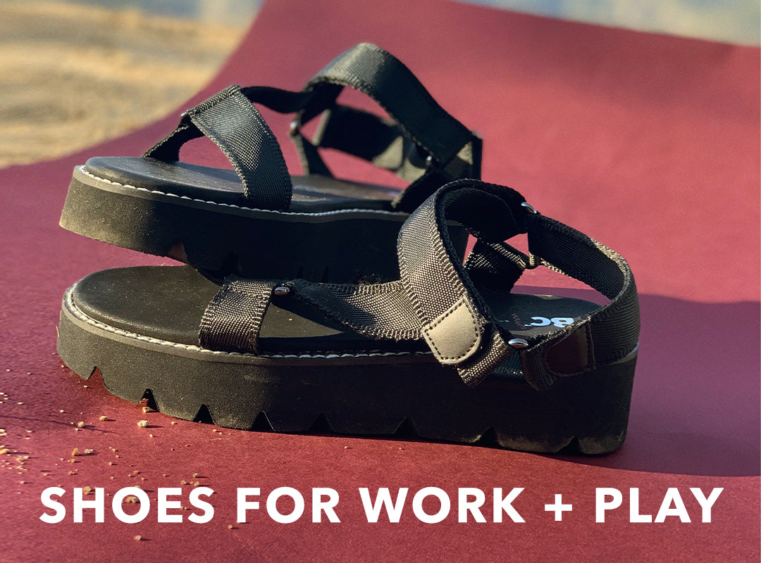 Shoes for work and play