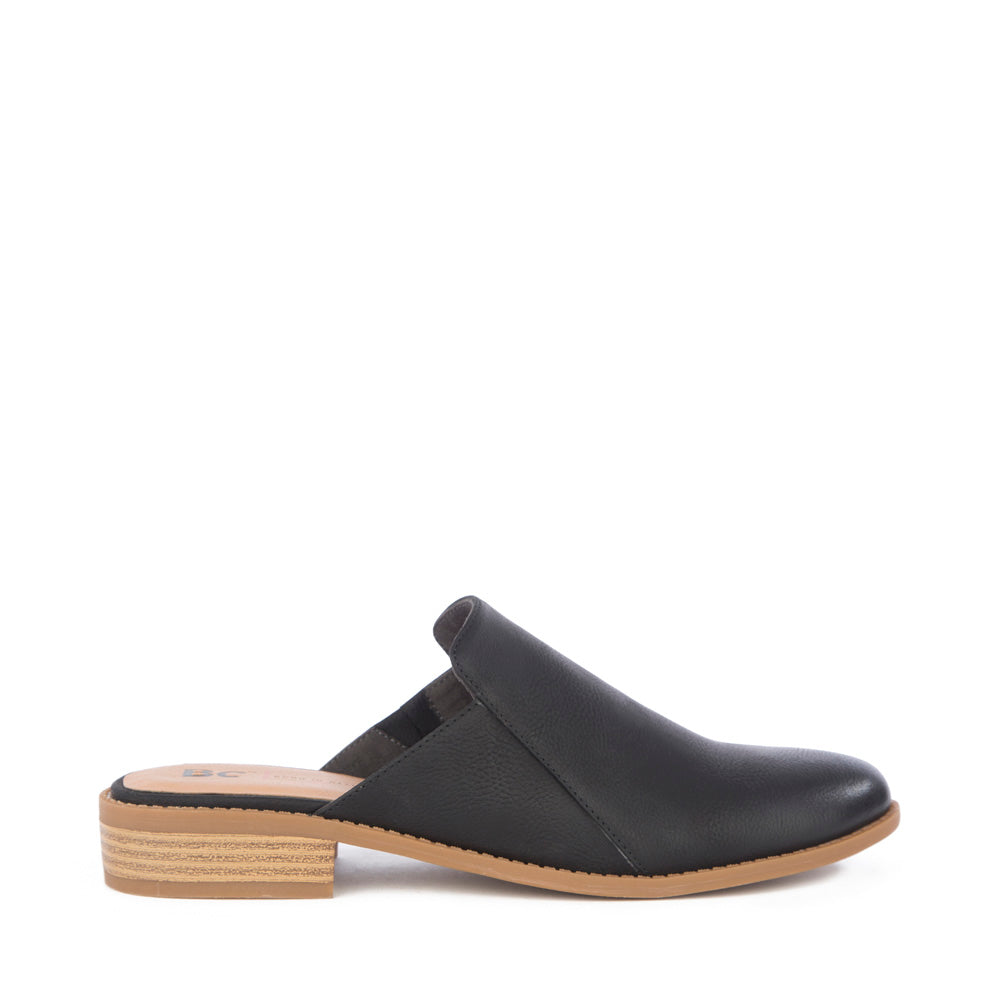 Product image of black vegan nubuck side