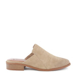 Product image of taupe vegan nubuck side
