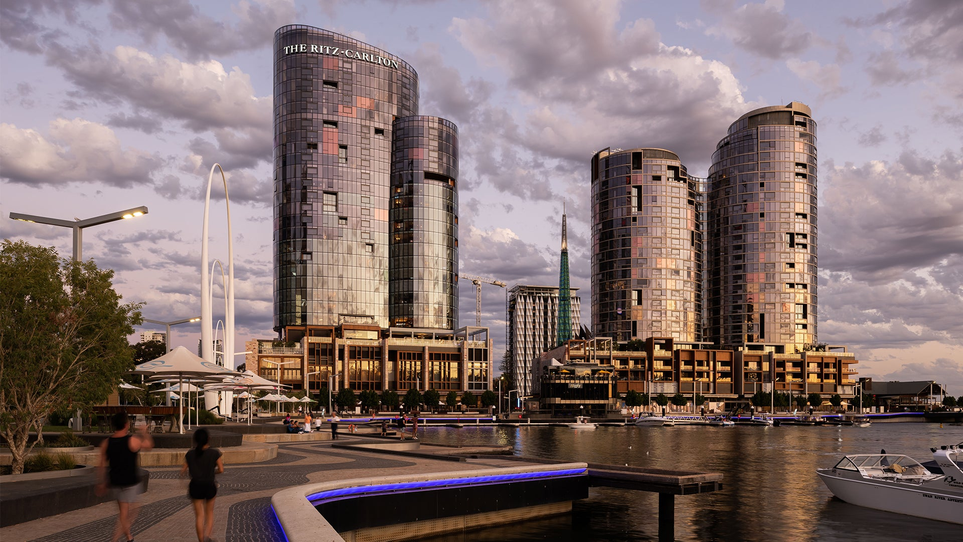 The Towers & Ritz Carlton Elizabeth Quay, Perth