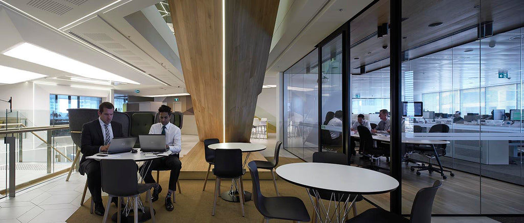 ANZ is a great example of designing for a variety of work styles.