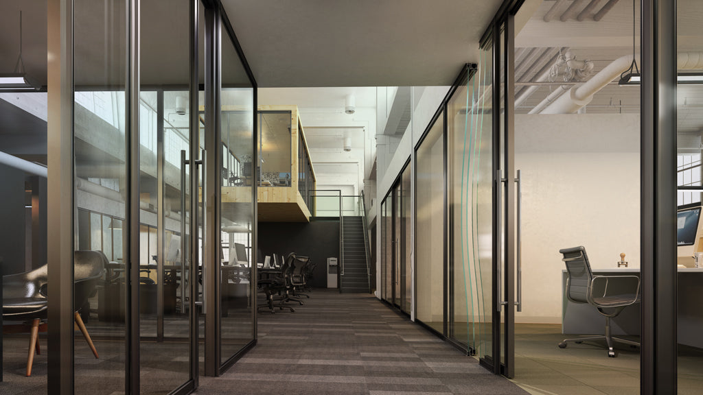 How IBeam can be used to segment an open plan office space