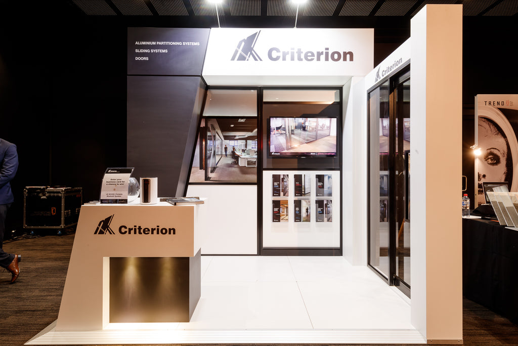 Criterion Industries stand at The-Arc Brisbane