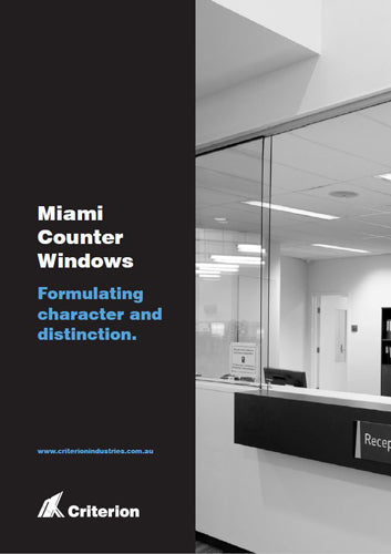 Miami Counter Windows