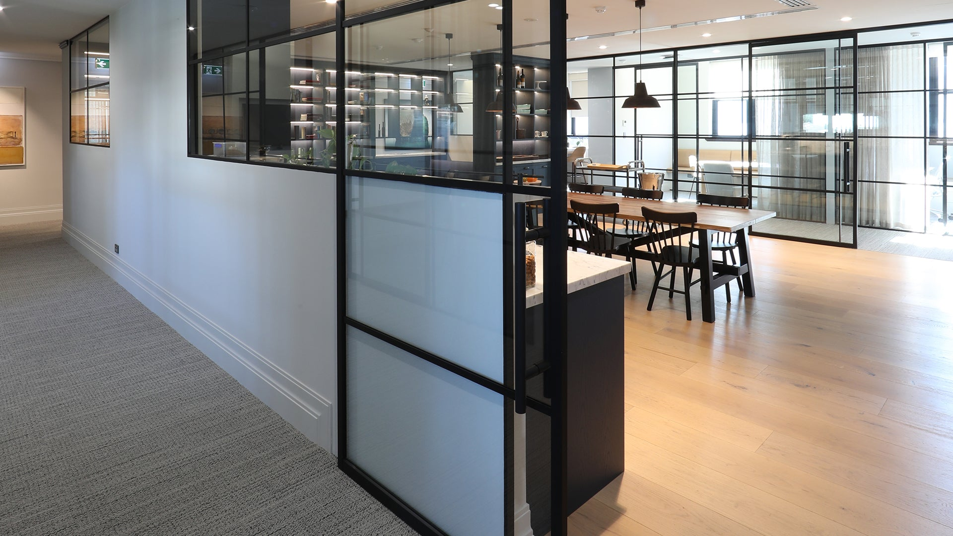 The Landsmith Collection Foyer Svelte Partiton Sliding Doors