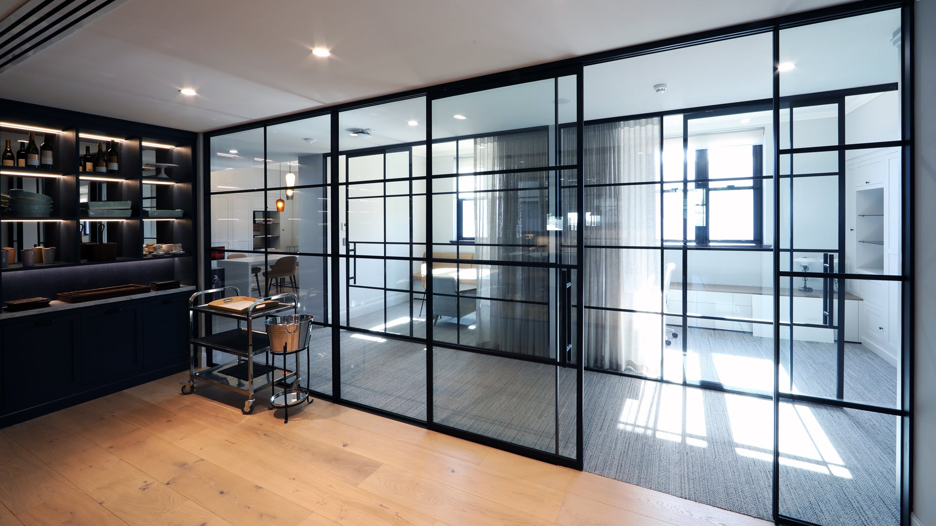 The Landsmith Collection Svelte Partition and Doors