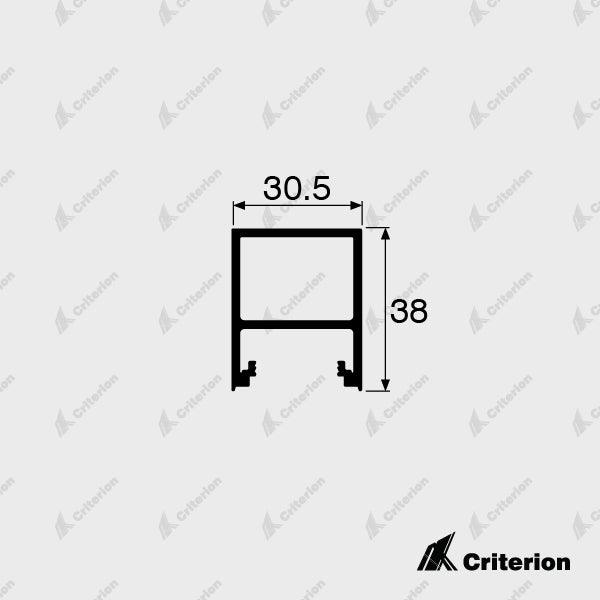 CI-0628 Plain Stile - Standard - Criterion Industries - office fitouts - australia