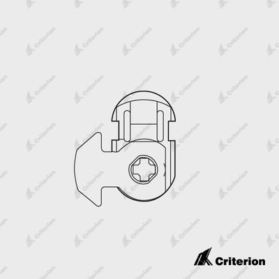 Lockwood Mortice Lock Cam/Adaptors - Standard - Criterion Industries - office fitouts - australia