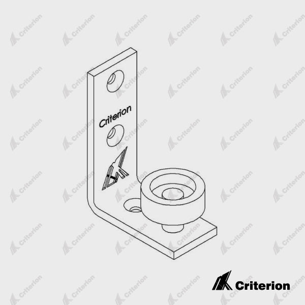 Arctic Wall Mounted Roller Door Guide - Standard - Criterion Industries - office fitouts - australia