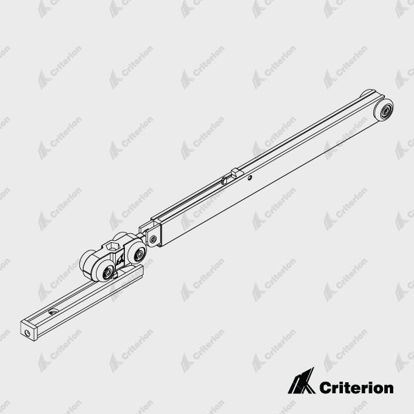 Arctic 40kg Soft Close Low Clearance, Roller Pack (Incl. Rollers, Track stops, Spanner and screws) - Standard - Criterion Industries - office fitouts - australia