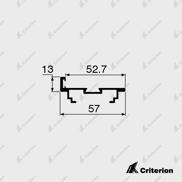 CI-0422 Door Jamb 45mm - Standard - Criterion Industries - office fitouts - australia