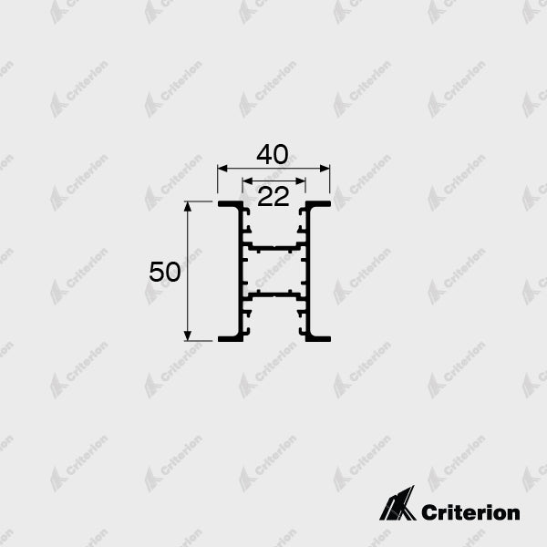 CI-0530 Window Frame - Standard - Criterion Industries - office fitouts - australia