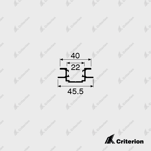 CI-0540 3 Way Adaptor - Standard - Criterion Industries - office fitouts - australia