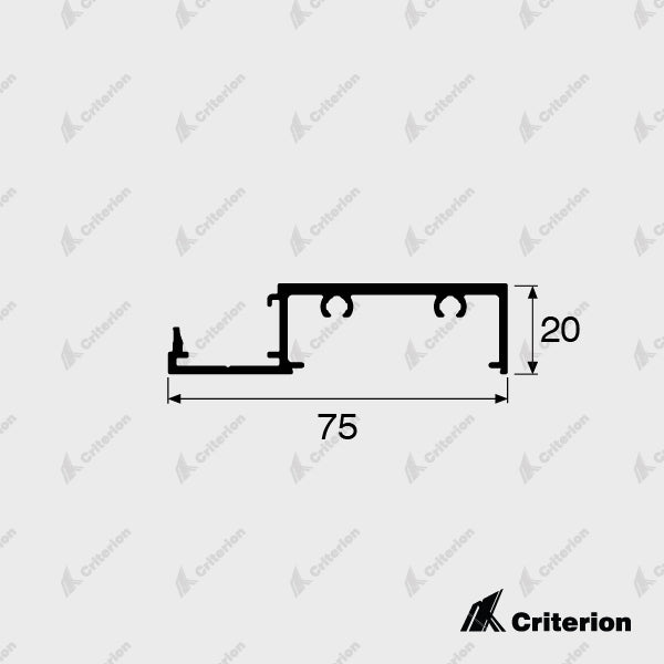 CI-0650 Window Sill - Standard - Criterion Industries - office fitouts - australia