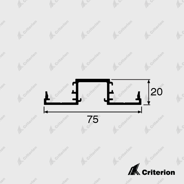CI-0652 Double Glazing Window Sill - Standard - Criterion Industries - office fitouts - australia