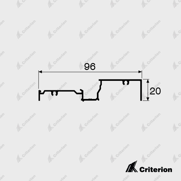 CI-2150 Window Sill - Standard - Criterion Industries - office fitouts - australia
