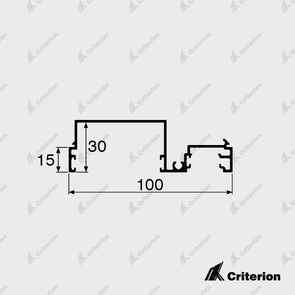 CI-2212 Offset Headguide Adaptor - Standard - Criterion Industries - office fitouts - australia