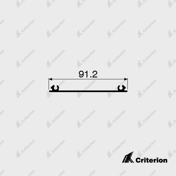 CI-3144 Flat Filler - Standard - Criterion Industries - office fitouts - australia