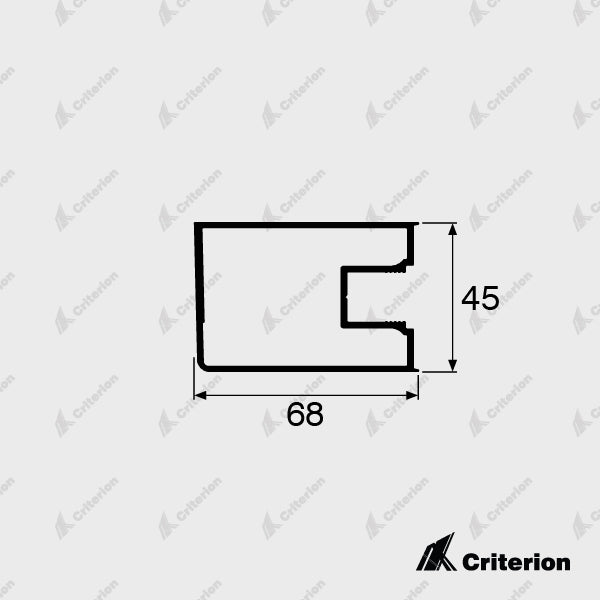 CI-5022 Hinge Stile - Standard - Criterion Industries - office fitouts - australia