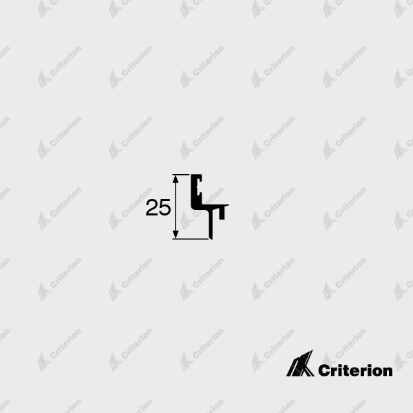 CI-5092 Rebate Adaptor - Standard - Criterion Industries - office fitouts - australia