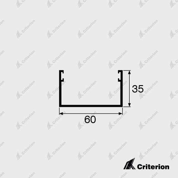 CI-5112 Door Guide - Standard - Criterion Industries - office fitouts - australia