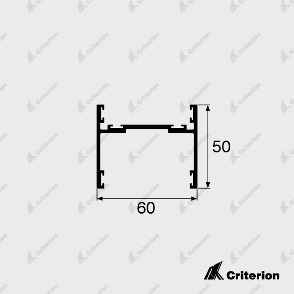 CI-5114 Sliding Door Receiver - Standard - Criterion Industries - office fitouts - australia