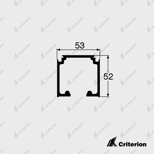 CI-5140 Overhead Track - Standard - Criterion Industries - office fitouts - australia
