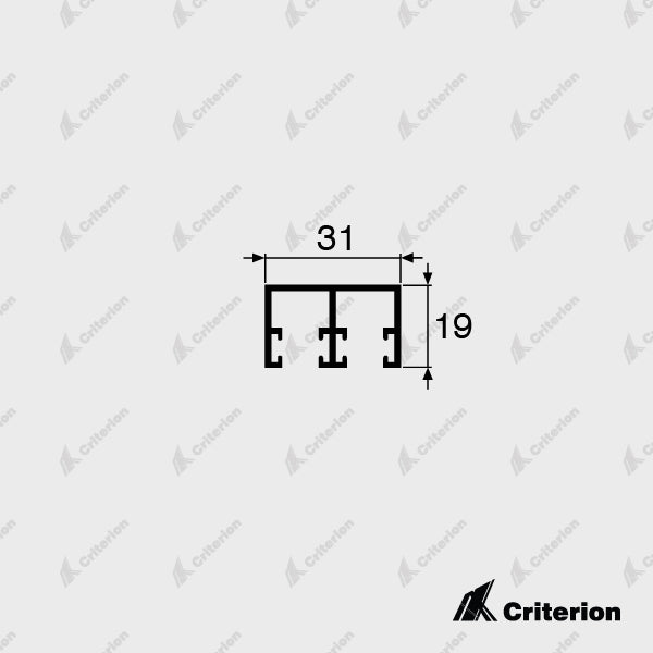 CI-5321 Double Head Guide - Standard - Criterion Industries - office fitouts - australia