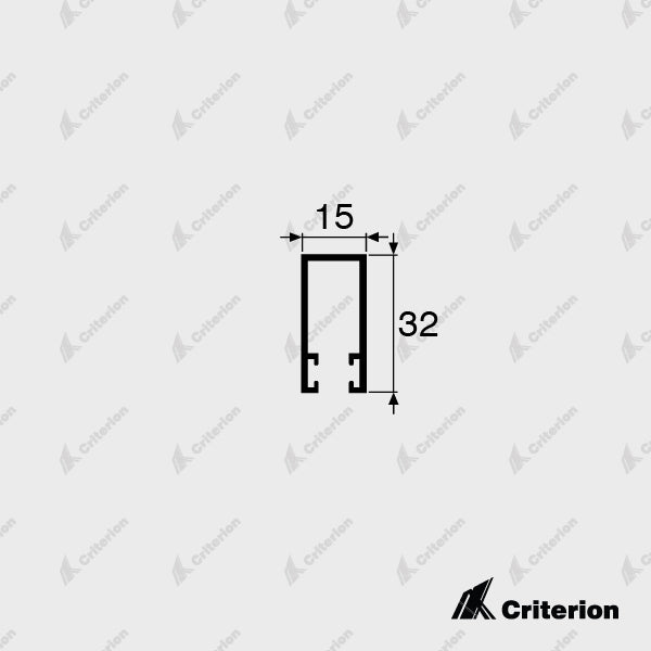 CI-5323 Single Head Guide - Standard - Criterion Industries - office fitouts - australia