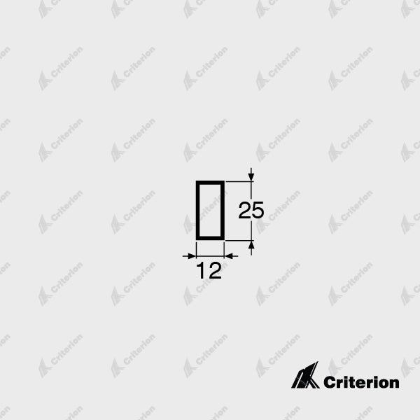 CI-5824 Box Section - Standard - Criterion Industries - office fitouts - australia