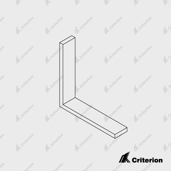 Gallium 45 Window Frame Angle - Standard - Criterion Industries - office fitouts - australia