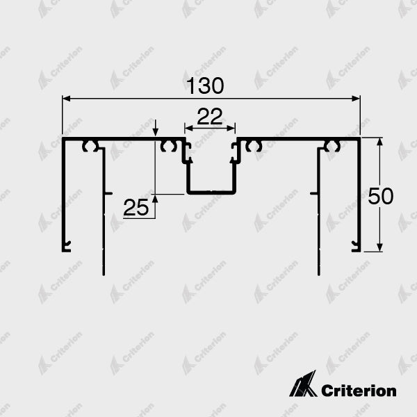CI-D4520 Door Frame - Standard - Criterion Industries - office fitouts - australia