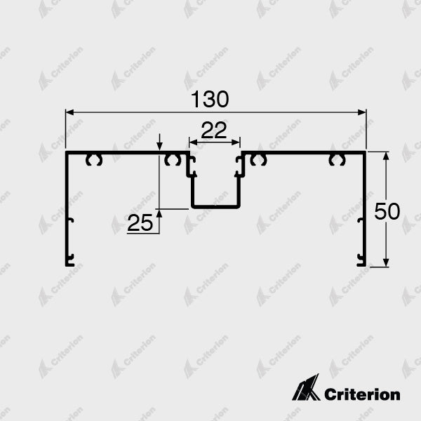 CI-D4530 Window Frame - Standard - Criterion Industries - office fitouts - australia