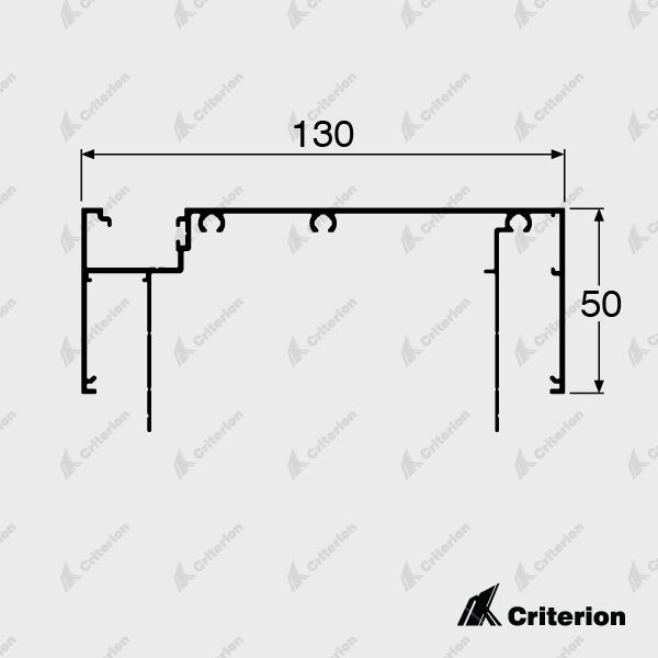 CI-D4536 Offset Glazing Frame (Long Legs)