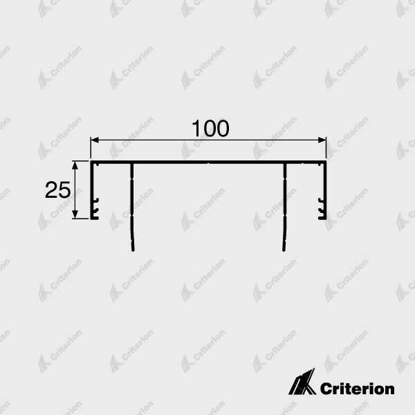 CI-L2410 Ceiling Channel