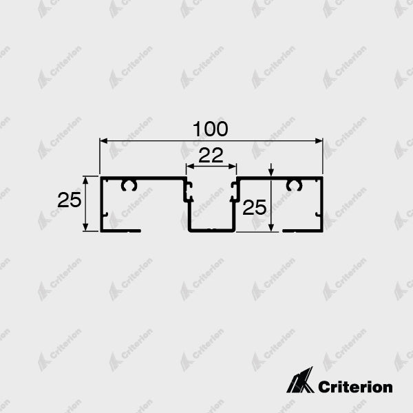 CI-L2431 Main Frame - Standard - Criterion Industries - office fitouts - australia