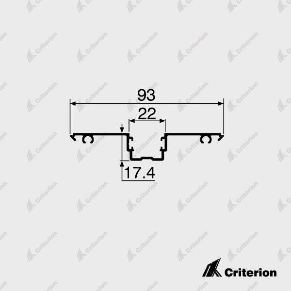 CI-P2240 Glazing Adaptor - Standard - Criterion Industries - office fitouts - australia