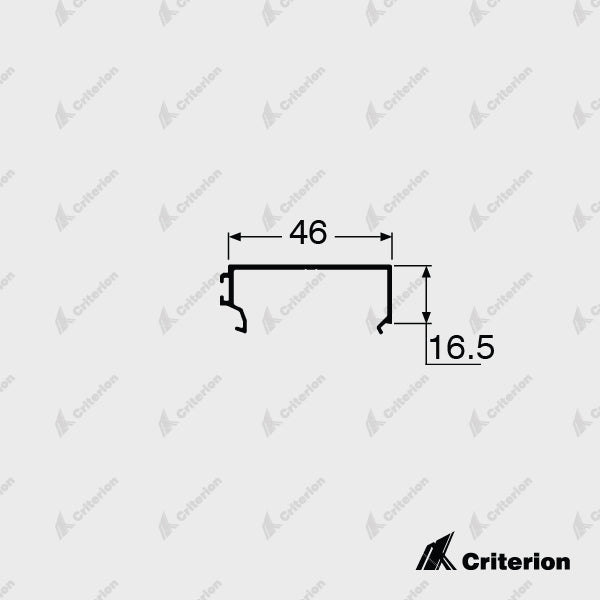 CI-P3251 Sill Bead - Standard - Criterion Industries - office fitouts - australia