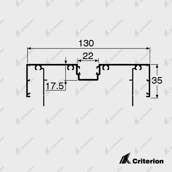 CI-P4220 Door Frame - Standard - Criterion Industries - office fitouts - australia