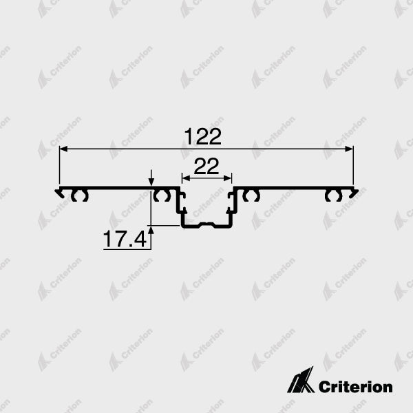 CI-P4240 Glazing Adaptor - Standard - Criterion Industries - office fitouts - australia