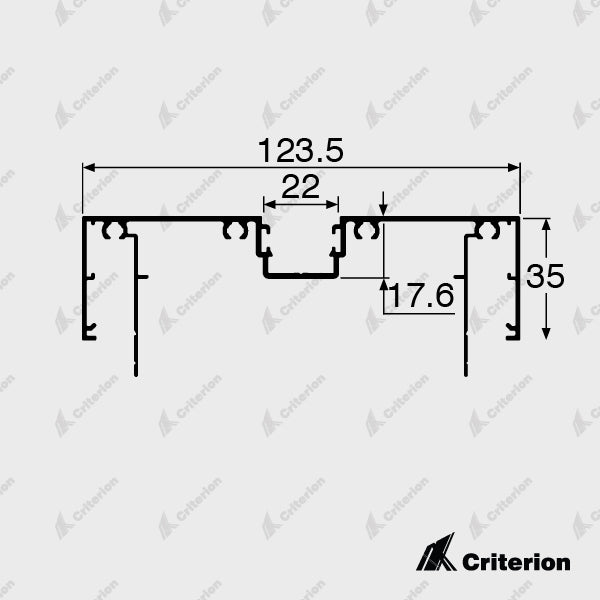 CI-P4920 Door Frame - Standard - Criterion Industries - office fitouts - australia