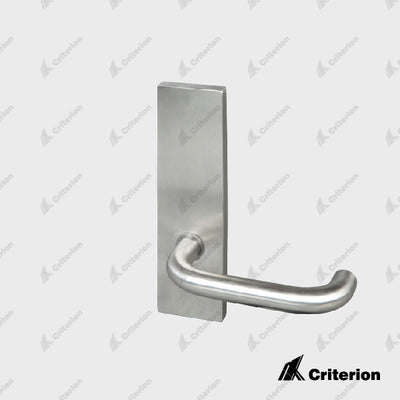 External Plate with Lever (No. 10 lever) - Standard - Criterion Industries - office fitouts - australia
